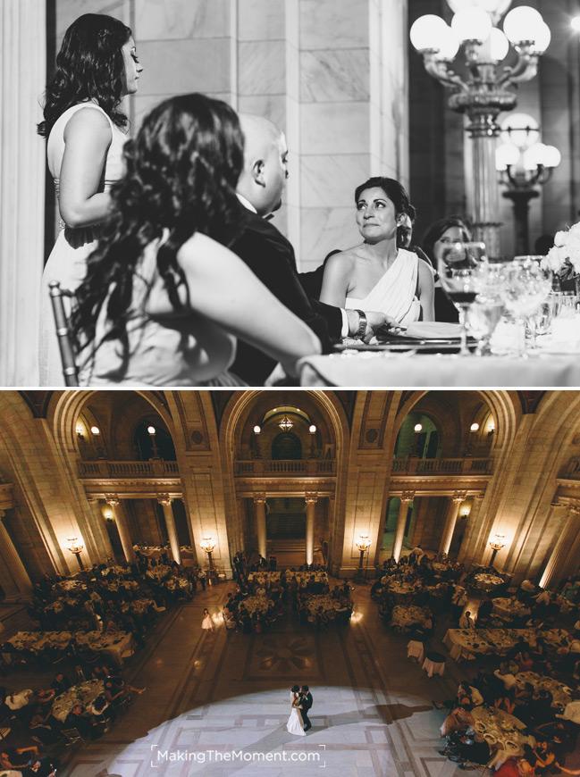 Classy courthouse wedding
