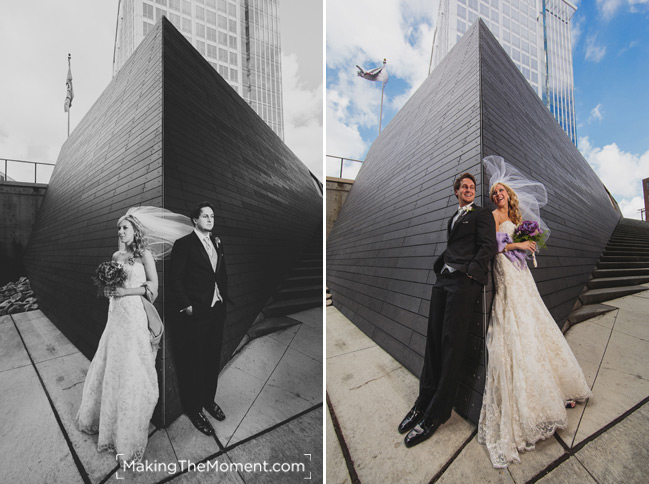 Modern cleveland Wedding Photography