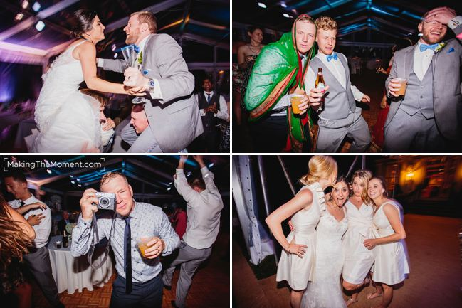 Cleveland Tented Wedding Reception