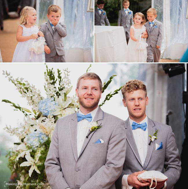 Tented Wedding Ceremony Cleveland