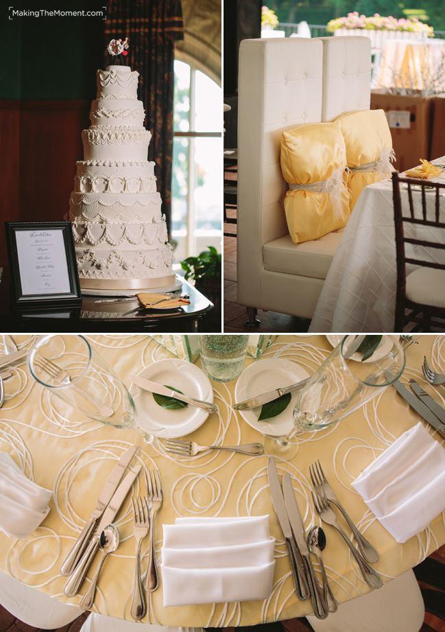 tented wedding shoreby