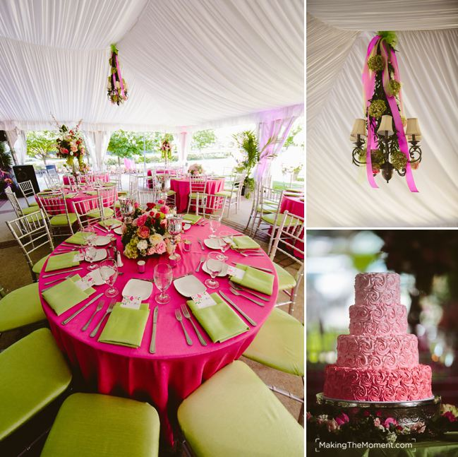 Tented Wedding Reception Glidden House