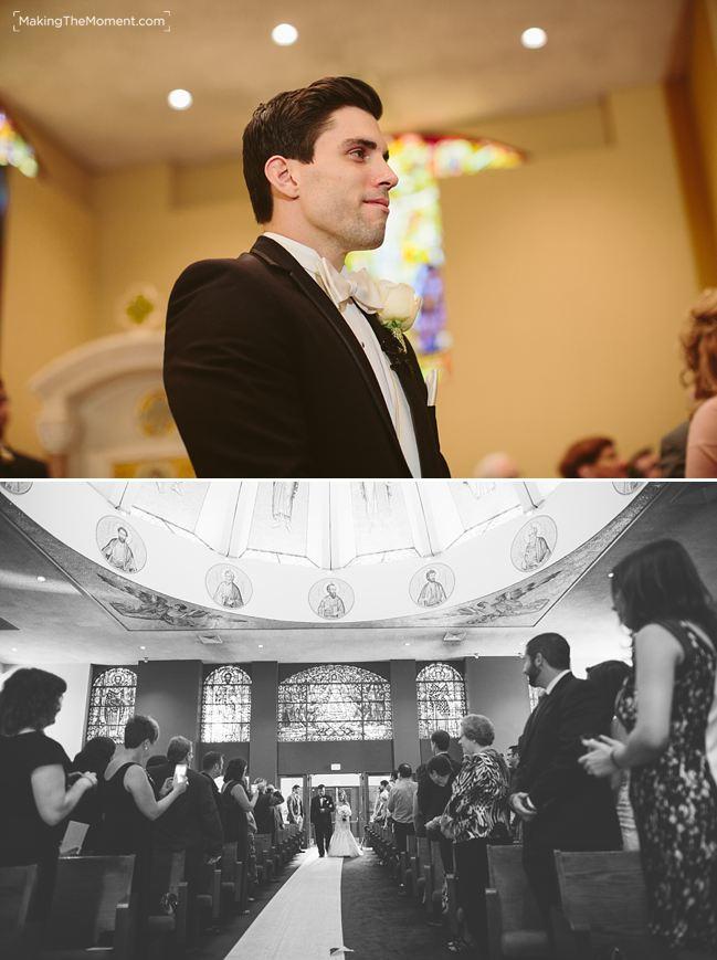 Wedding at St. Demetrios Greek Orthodox Church