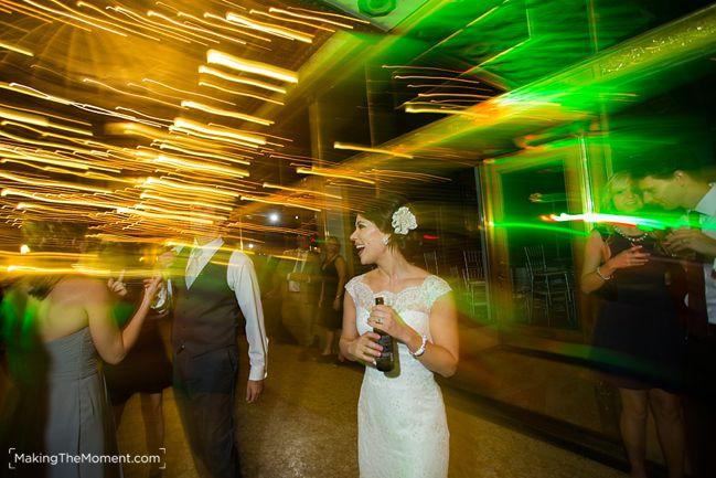 Cleveland Arcade wedding reception