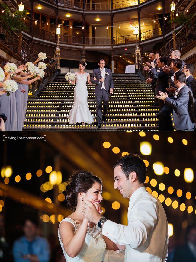 Hyatt Arcade Wedding Cleveland
