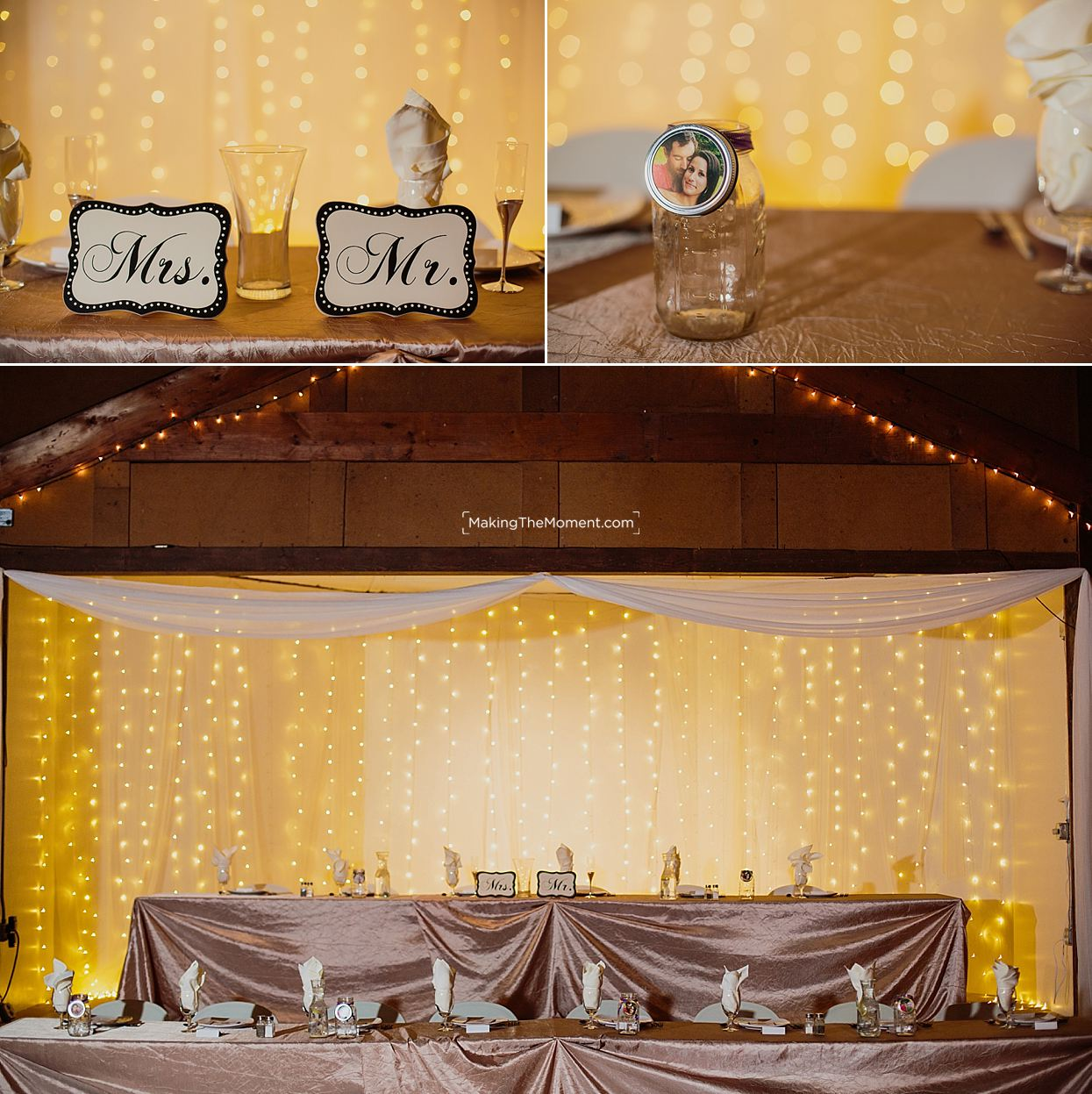 Cleveland Barns Wedding Reception