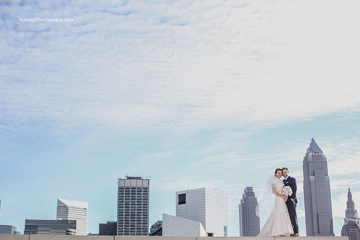 Non-traditional wedding photographer cleveland