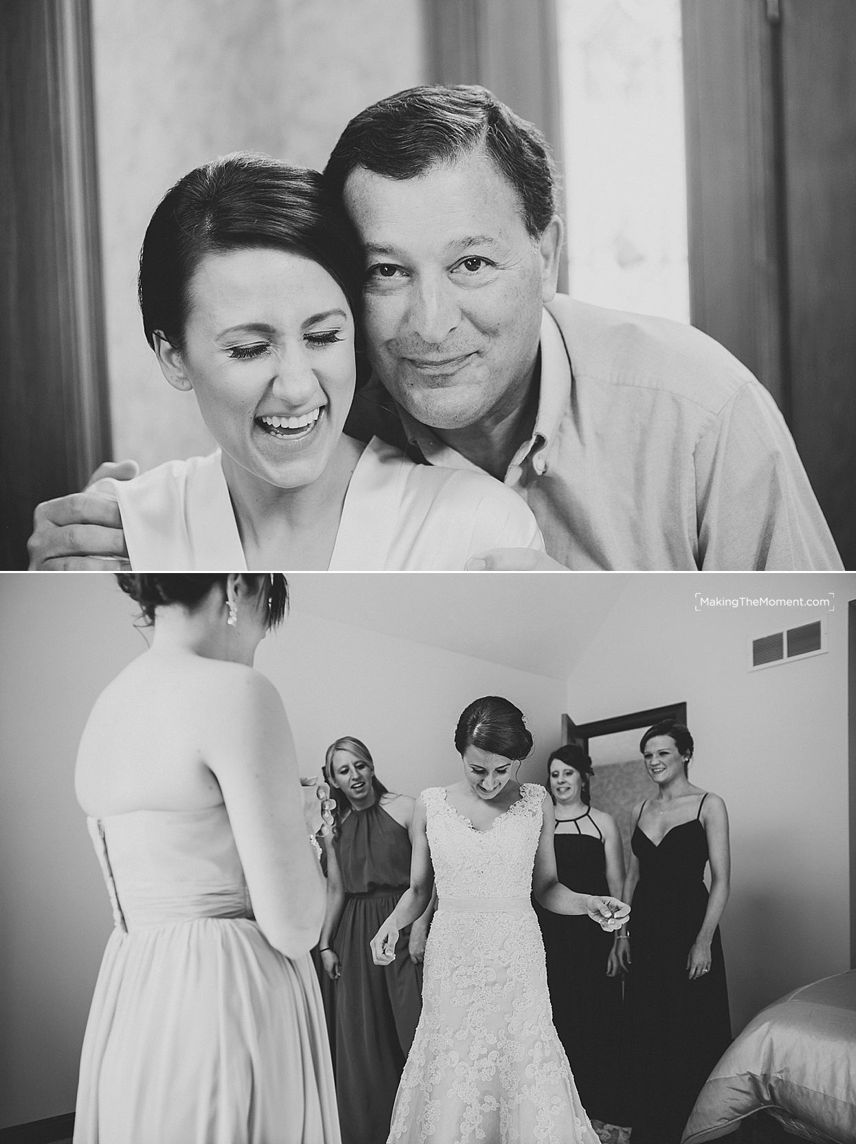candid wedding photographer Cleveland