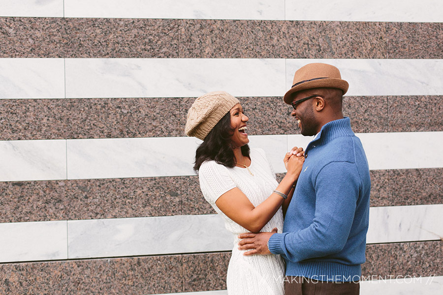 Fun Engagement Session Photographer Cleveland