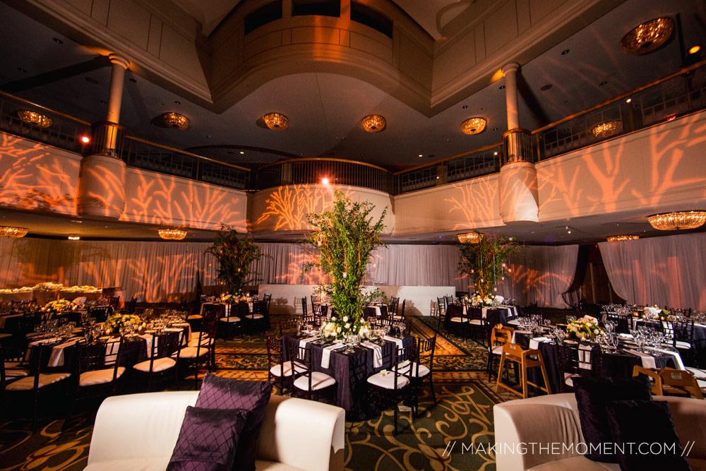 Cleveland Renaissance Wedding Reception