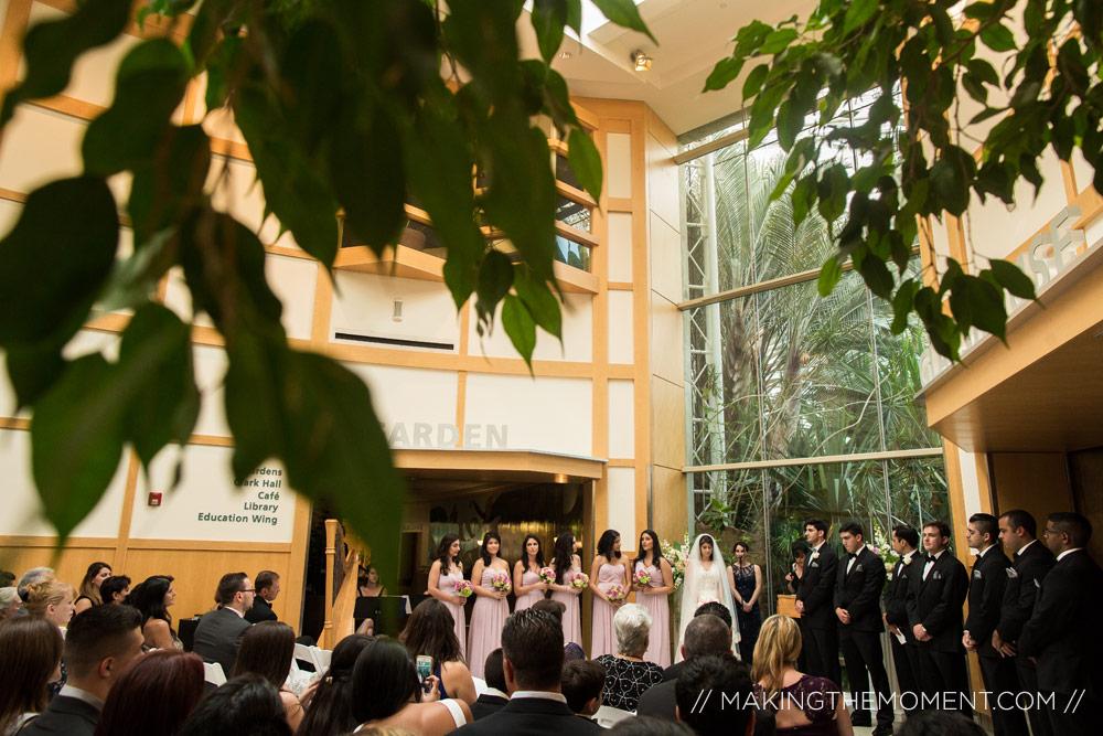 Cleveland Botanical Gardens Wedding ...