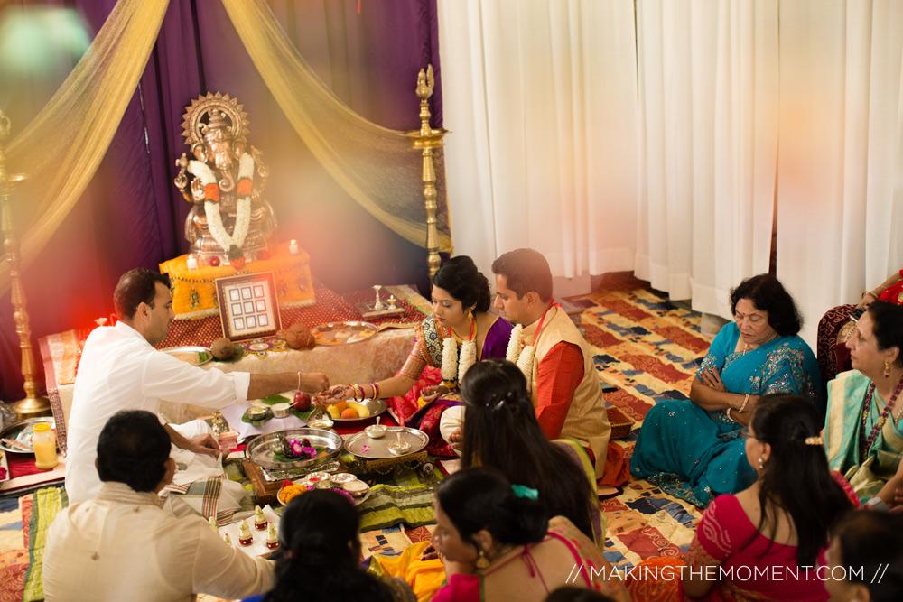 Indian Haldi Ceremony Cleveland