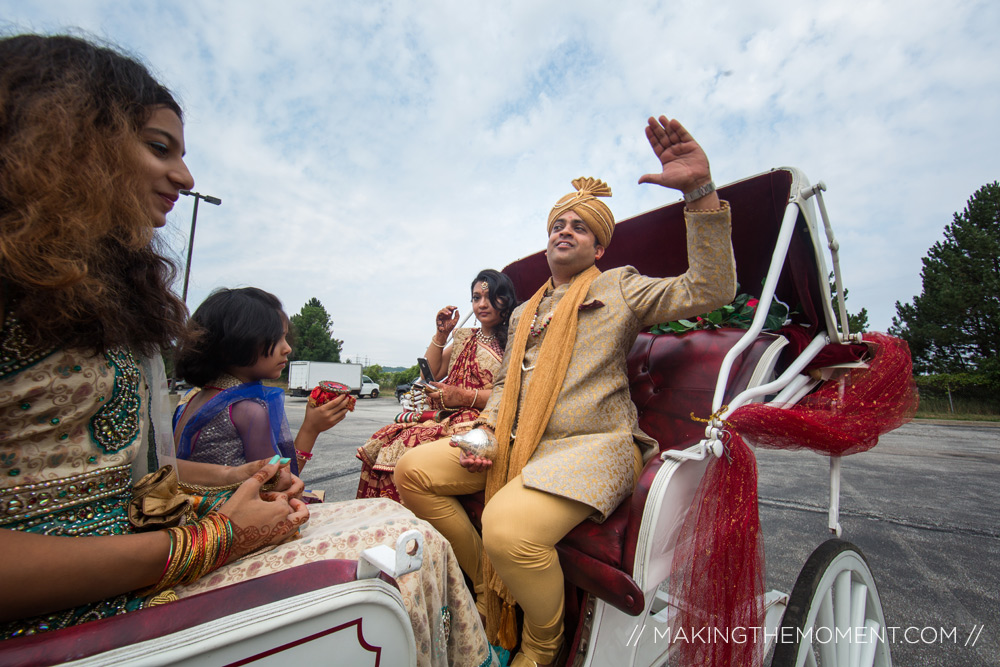 Indian Wedding Barat Cleveland
