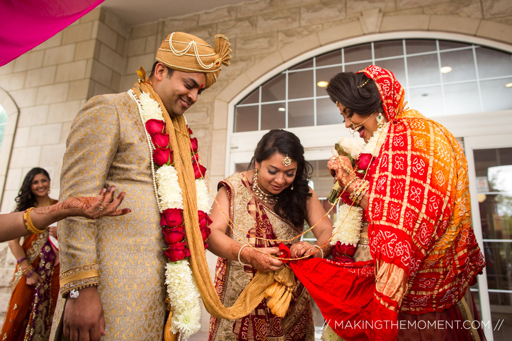 indian wedding ceremony Embassy Suites Independence