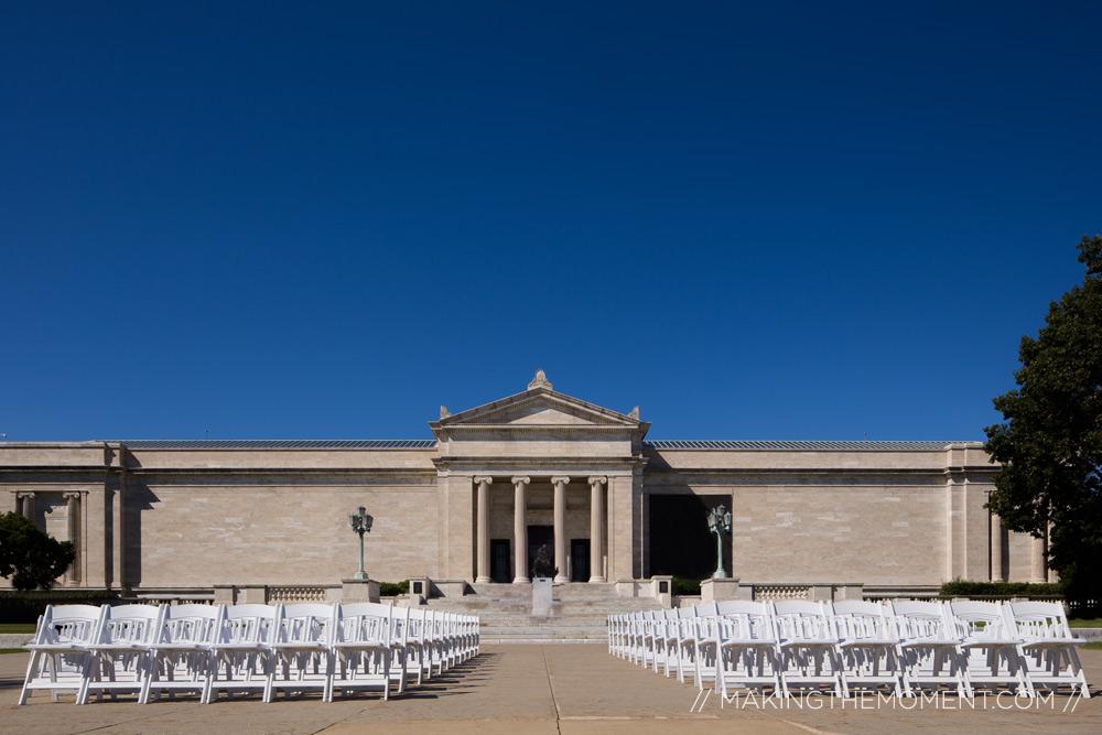 Cleveland Art Museum Terrace Wedding