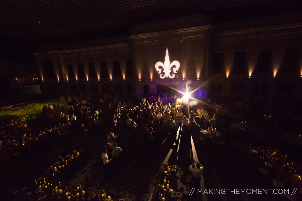 Cleveland Art Museum Atrium Wedding Reception