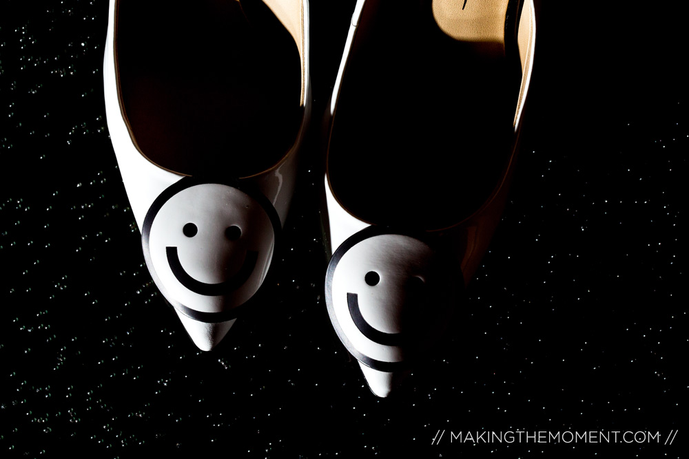 Smiley Wedding Shoes