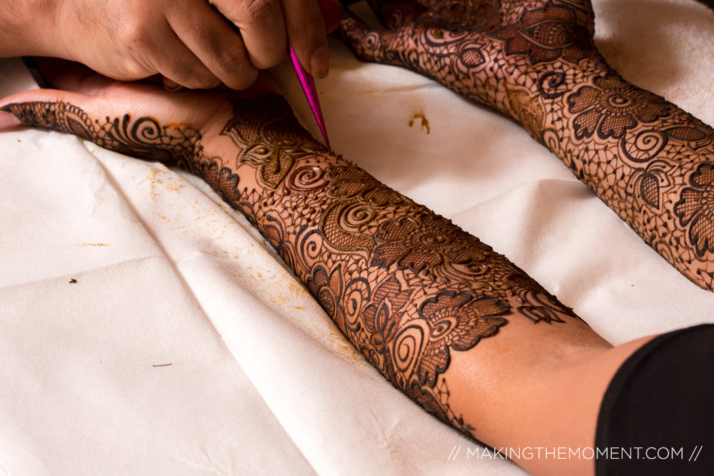 Indian Wedding Mendi Art