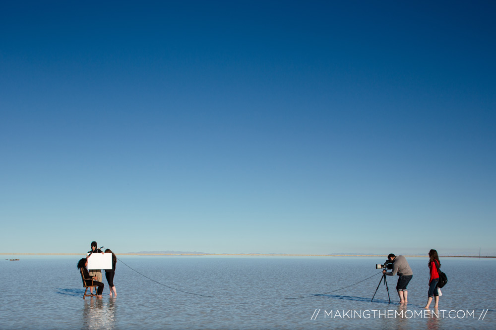 salt flats wedding videography