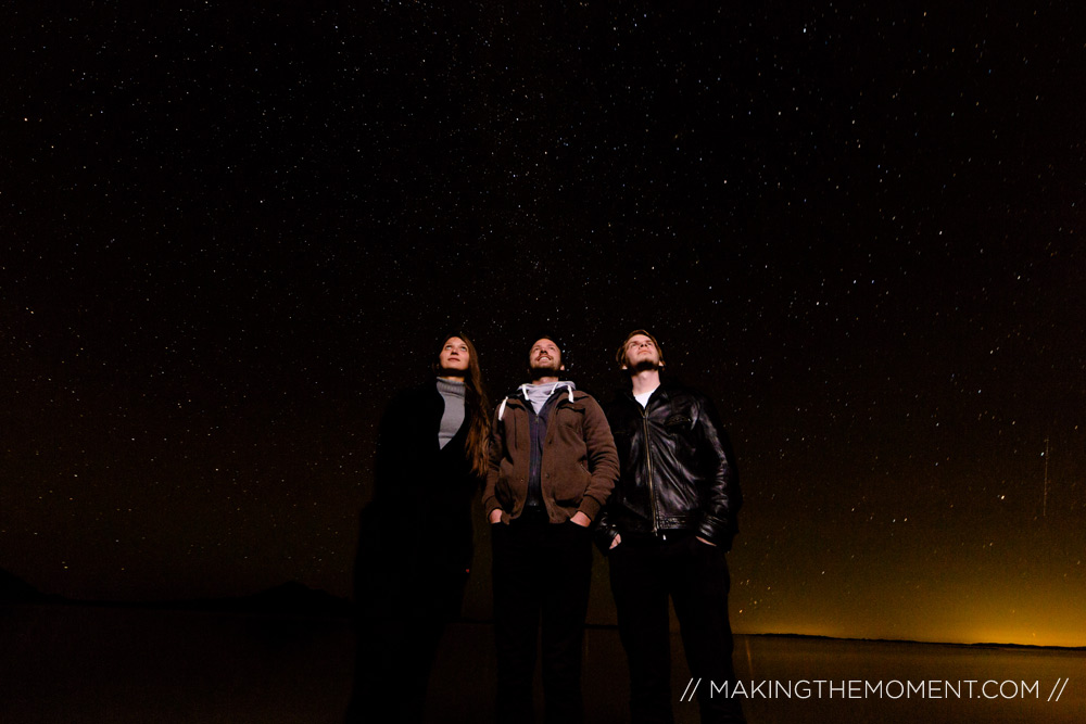 salt flats night photography stars