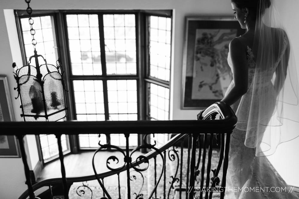 Artistic wedding photographers Cleveland