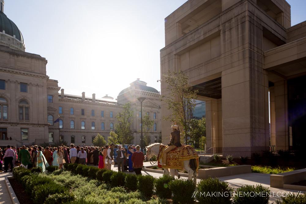 Indiana State House Wedding
