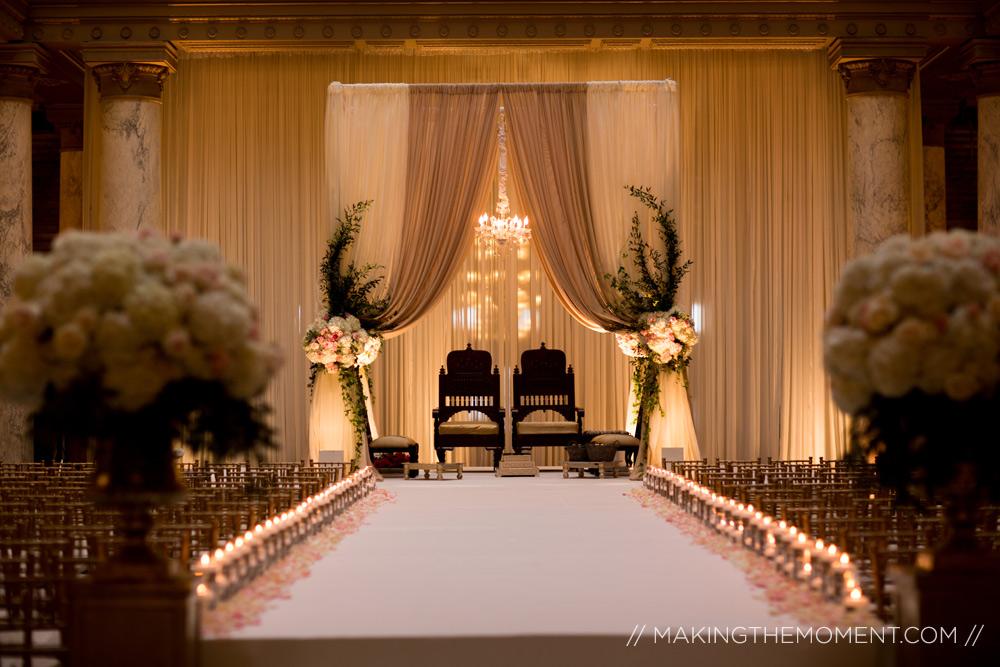 Mandap Indiana State House Wedding