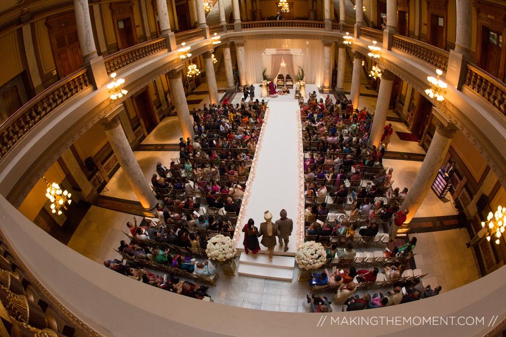 Indianapolis Indian wedding ceremony