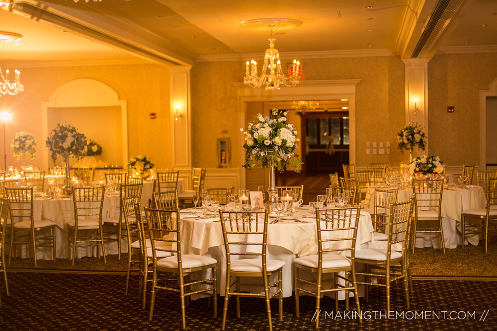 Shaker Heights Country Club Wedding Reception