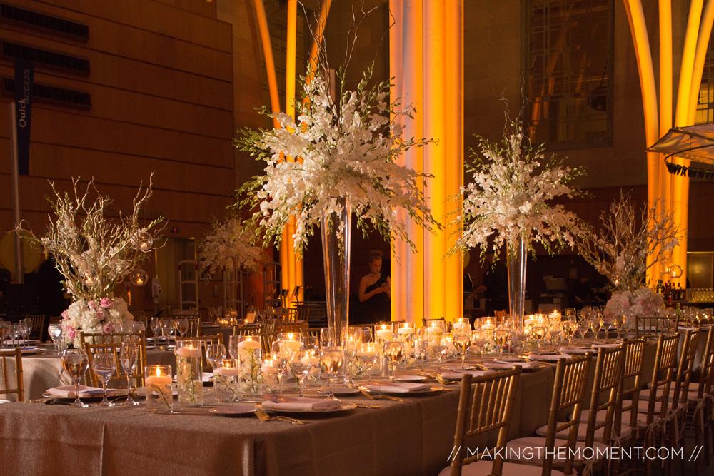 Indianapolis Library Wedding Reception