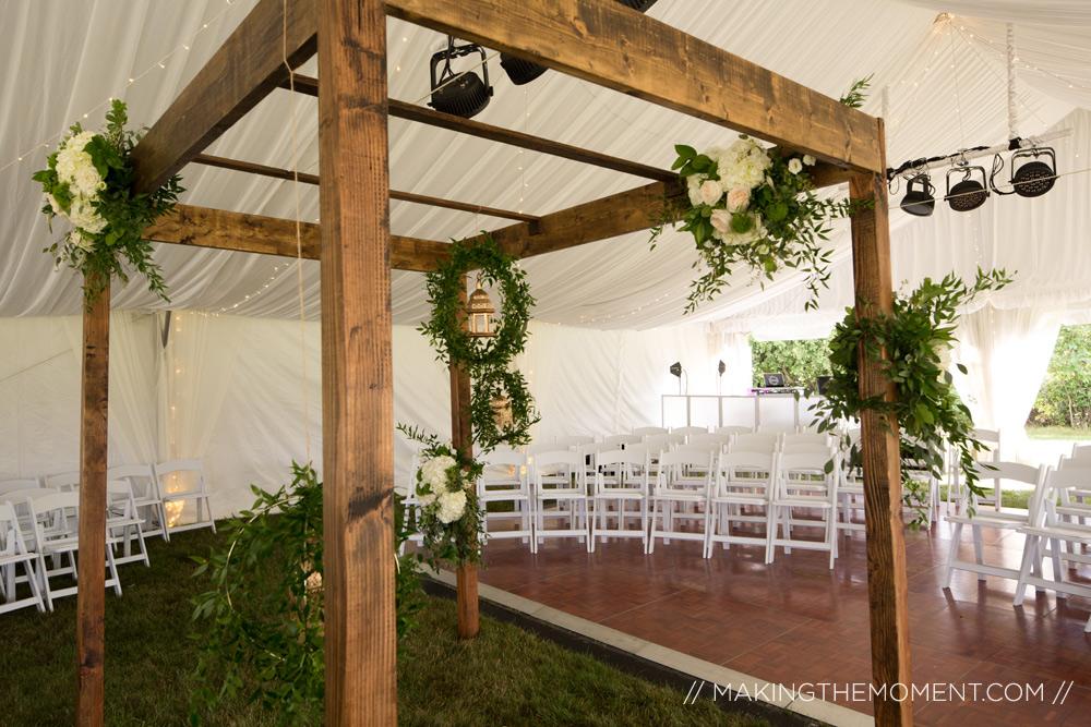 tented wedding inspiration cleveland