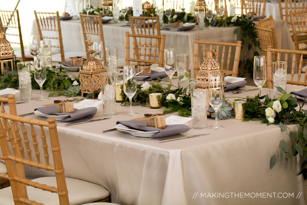 tented wedding reception inspiration cleveland