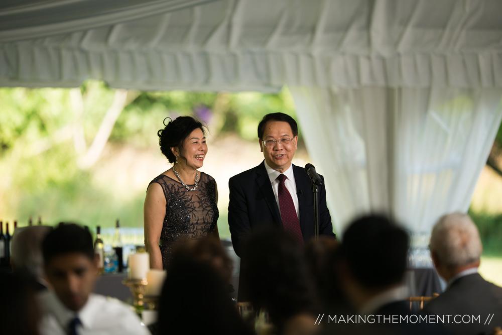 tented wedding reception inspiration cleveland