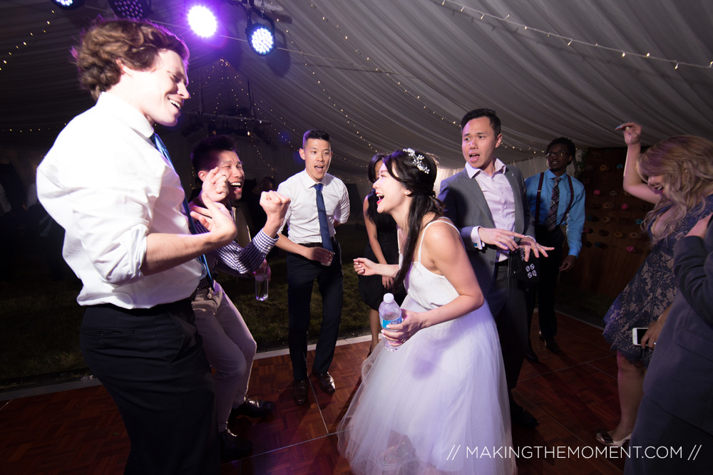 wedding reception dancing cleveland