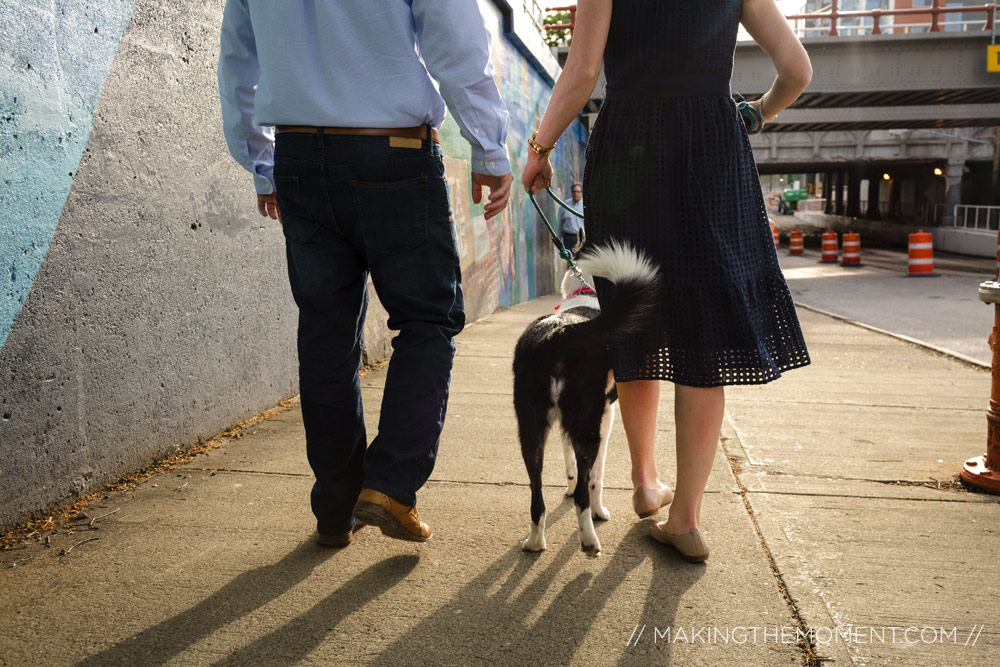 Engagement Session Cleveland Dogs