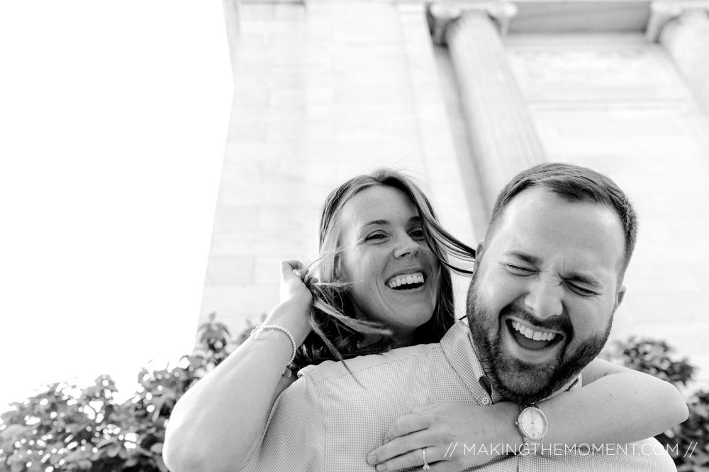 Fun wedding Photographers Cleveland