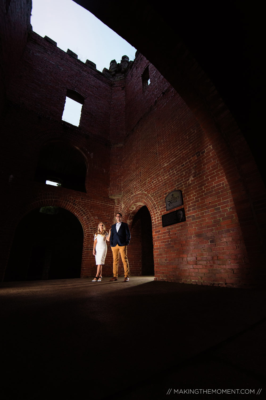 Engagement Session Cleveland Squires Castle