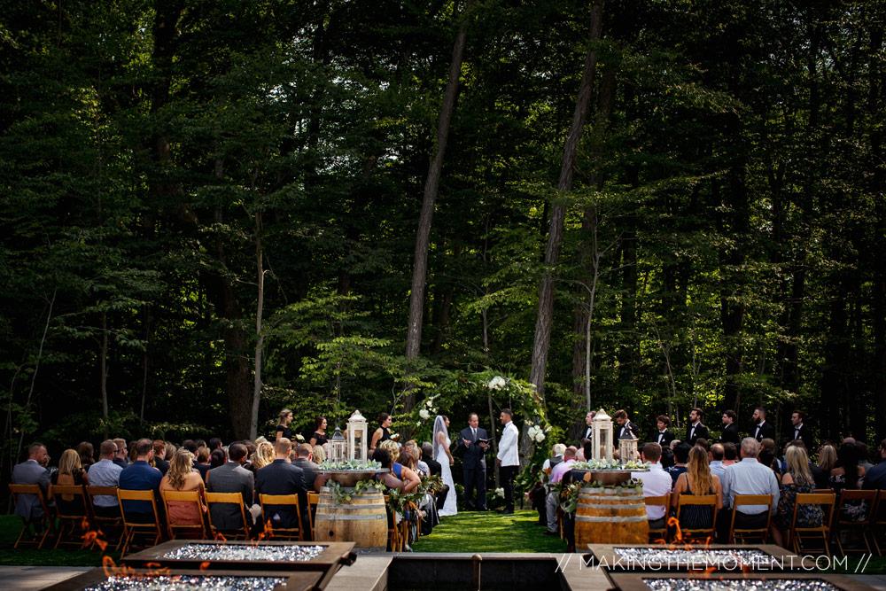 Sapphire Creek outdoor Wedding Ceremony