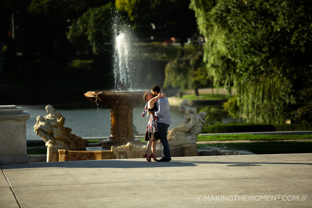 Cleveland Engagement Proposal Photographer