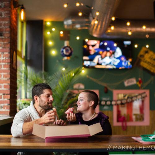 Unique Engagement Photography Cleveland