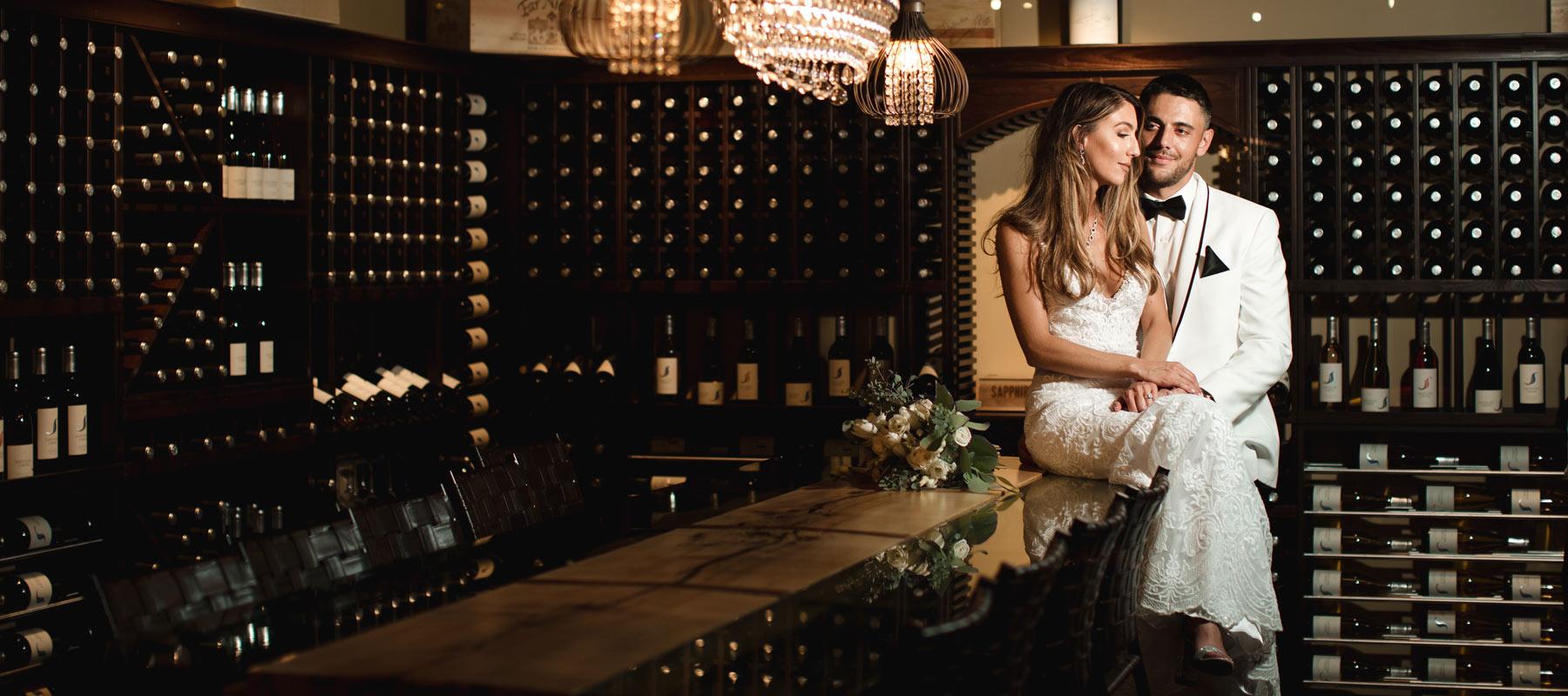 Chelsey + Cody // Partners in Wine