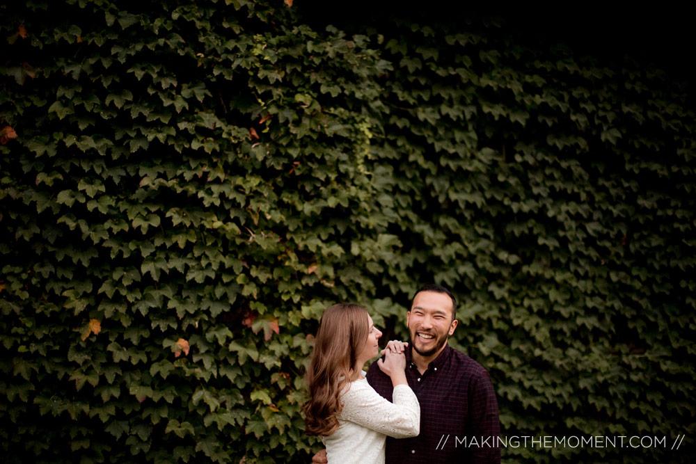 Cleveland Wedding Engagement Session