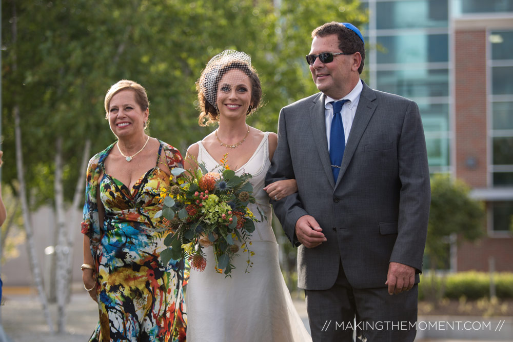Akron Art Museum Wedding Ceremony