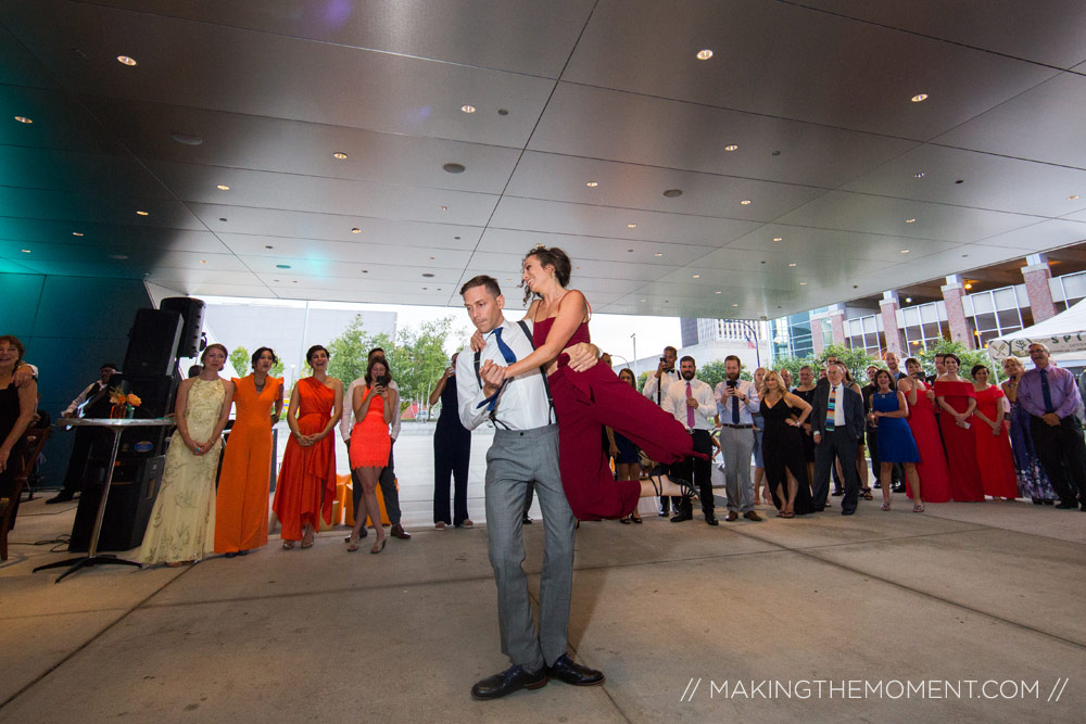 Akron Art Museum Wedding Reception