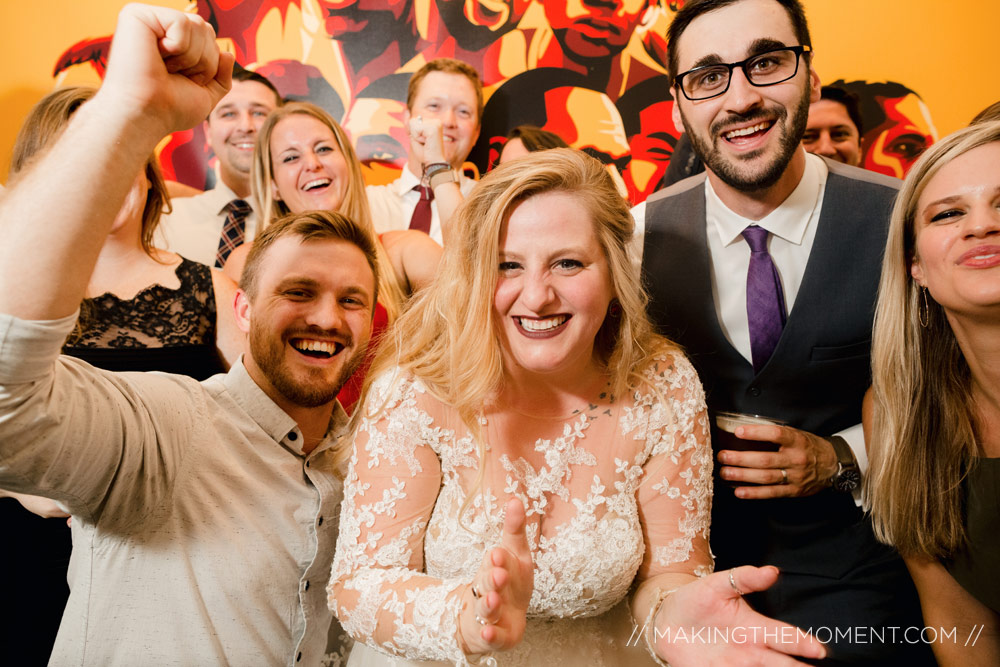 Red Space Wedding Reception