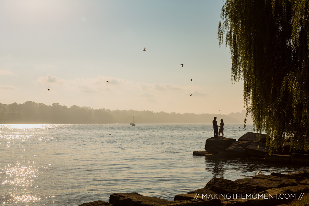 Engagement Session Photographer Cleveland Edgewater Park