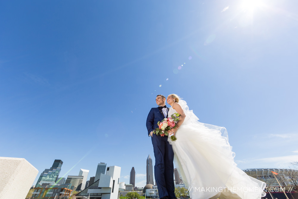 Wedding Photography Downtown Cleveland