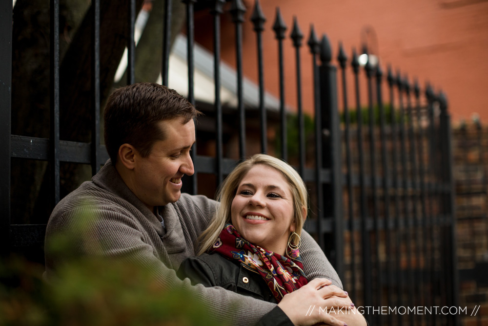 Winter Engagement Photography Cleveland