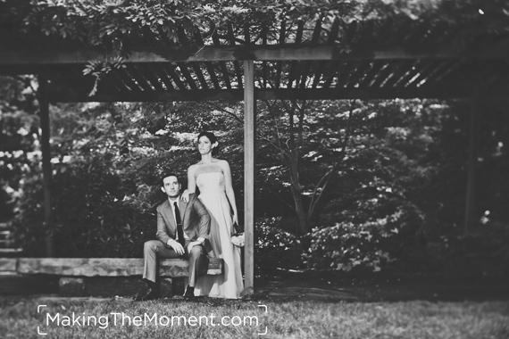 Cleveland Botanical Gardens Wedding Photography