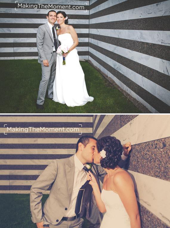 Cleveland Botanical Gardens Wedding Photographer